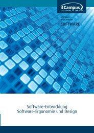Software-Entwicklung Software-Ergonomie und ... - itCampus GmbH
