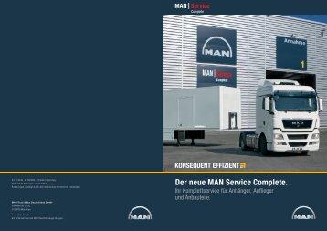 Der neue MAN Service Complete. - MAN Truck & Bus