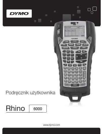Rhino 6000 - DYMO