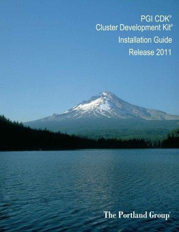 PGI CDK Installation Guide - The Portland Group