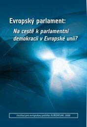 Na cestě k parlamentní demokracii v Evropské unii? - EUROPEUM ...
