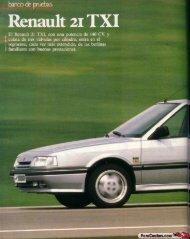 Prueba Renault 21 TXI