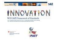WCO SAFE Framework of Standards