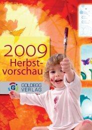 Werkvorschau - Goldegg Verlag