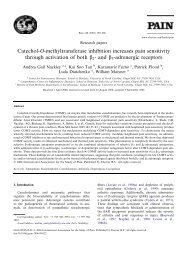 Catechol-O-methyltransferase inhibition increases ... - ResearchGate