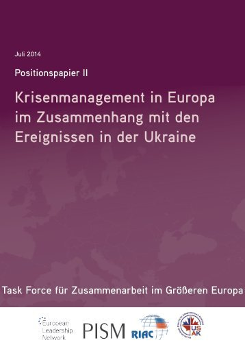 Task Force Position Paper_July 2014_German