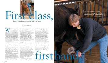 Firstclass, Firsthand - Berry College