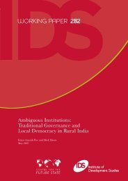 documented - Institute of Development Studies