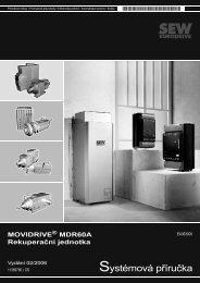 Systémová příručka - SEW Eurodrive