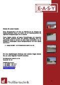 Easyklick - Montagehandbuch - index - Seite 2