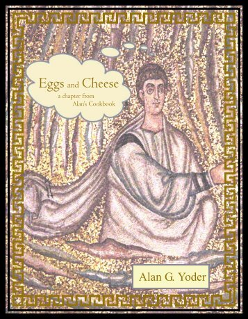 Eggs and Cheese - Alan's Cookbook