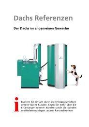 Dachs Referenzen - Senertec Center Hagen