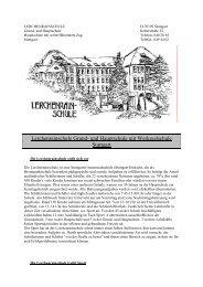 Lerchenrainschule Grund- und Hauptschule mit ... - Kultusportal