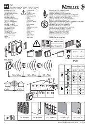 Xcomfort CRCA-00/04, CRCA-00/05 ca. 60-90% ca. 80-95 ... - Moeller