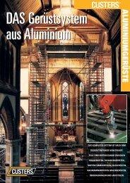 ALUMINIUMGERÜSTE - Stalder Engineering GmbH