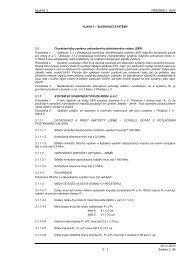 Hlava 3 - Letecká informační služba - Řízení letového provozu