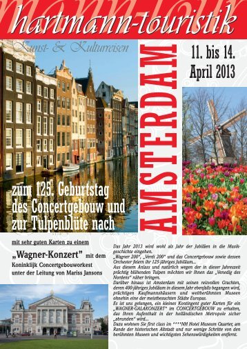 14.04.2013 Amsterdam - hartmann-touristik