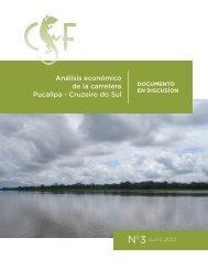 Análisis económico de la carretera Pucallpa - Cruzeiro do Sul