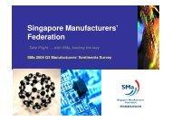 Sep - Singapore Manufacturing Federation