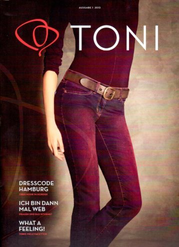 Interview TONI Fashion Magazin
