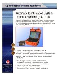 Automatic Identification System Personal Pilot Unit (AIS-PPU)