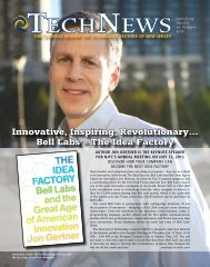 May 2012 Issue - NJTC TechWire