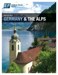 GERMANY & THE ALPS - EF College Study Tours