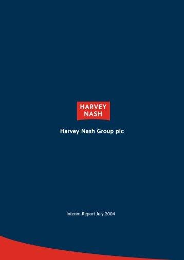 Interim Report 2004 - Harvey Nash