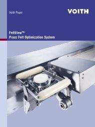 FeltView™ Press Felt Optimization System - Voith