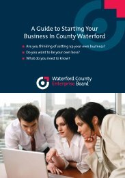 Starting Your Business - Waterford County Council