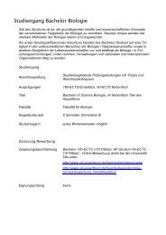Studiengang Bachelor Biologie - Biostudium.uni-wuerzburg.de