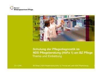 PD_Berner Bildungszentrum - Netzwerk Pflegediagnosen