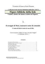 Figure della fede: Mosè - Symbolon.net