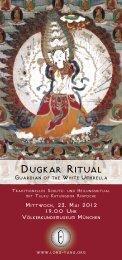 Dugkar Ritual r Ritual - Staatliches Museum für Völkerkunde