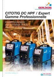 CITOTIG DC HPF / Expert - Oerlikon