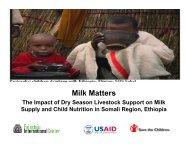 Milk Matters - FSN Network Portal