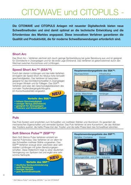 MIG MAG Stromquellen und Brenner - Oerlikon