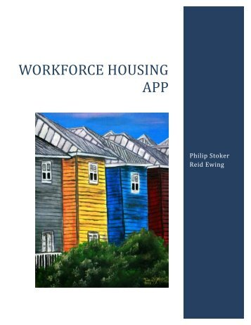 Workforce Housing Model   University Of Utah Graduate School Of .
