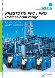PRESTOTIG PFC / PRO Professional Range - Saf-Fro