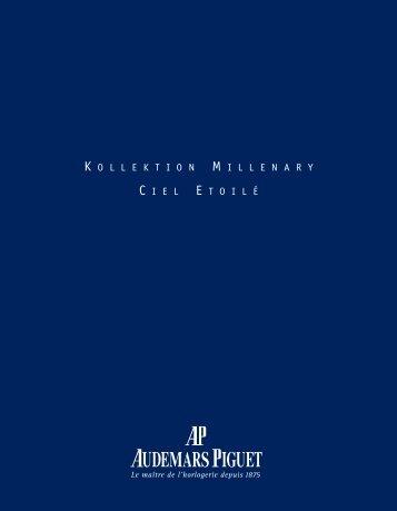 die vollständige Dokumentation der Millenary Ciel Etoilé - Upscale