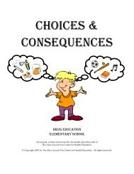 Choices and Consequences - Poe Center for Health Education