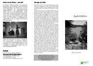Flyer Jagdschlösschen Eutin/Sielbeck am Ukleisee