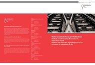 Weichenaufarbeitung - Goldschmidt Thermit Railservice GmbH