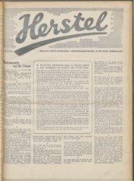 Herstel (1945) nr. 9 - Vakbeweging in de oorlog
