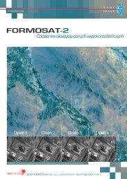FORMOSAT-2 - Broszura - Geosystems Polska Sp. z o.o., Warszawa