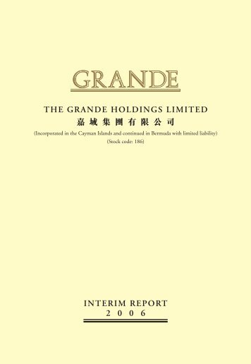 Grande cover 06.ps, page 1-2 @ Normalize - the grande holdings ...