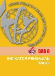 bab 8 - indikator pengajian tinggi - Kementerian Pengajian Tinggi