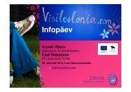 visitestonia.com infopäev Jõgevamaal - Lõuna-Eesti