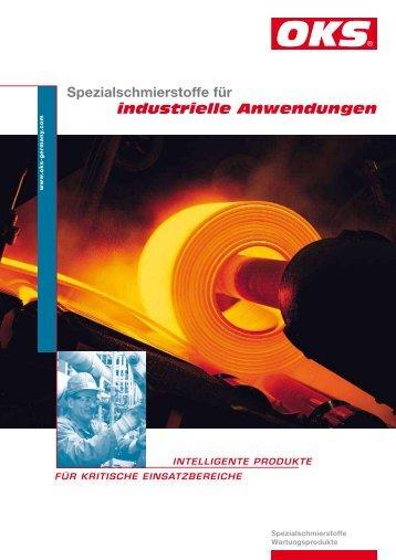 Spezialschmierstoffe für industrielle Anwendungen