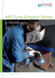 WST Fume Extraction Torches - Oerlikon, the expert for industrial ...